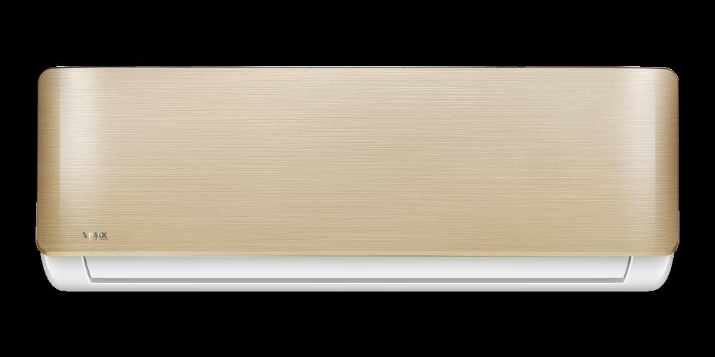 Zlata barva Vivax klimatske naprave za popestritev bivalnega prostora.
